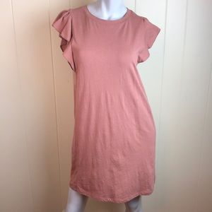 Forever 21 Dresses - 3/$27 Forever 21 Taupe Knit Tee Shirt Dress